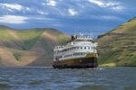 The UnCruise ship Legacy. The Seattle-based company plans to resume its cruises starting in late April.