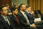 Erik Paulsen, second from right, is Vancouver's new City Council member. The Council appointed Paulsen during a special meeting on Monday, Jan. 14, 2019.