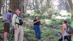BLM Field Manager Kristi Mastrofini (center) answers questions from community members.
