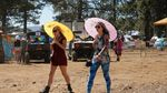 The only reason you should need an umbrella at the Oregon Eclipse Festival at Big Summit Prairie in Central Oregon is to block out the sun. The forecast calls for clear skies during the total solar eclipse Monday, Aug. 21, 2017.