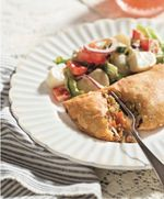 """This savory handpie from Melissa Bahen's """"Scandinavian Gatherings"""" is good hot out of the oven but maybe even better after it's cooled a bit."""
