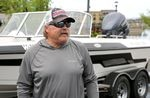 """Ted Rydstrom ishes two or three days a week, but not for pikeminnow. """"They don't put up much of a fight,"""" he said."""