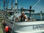 """Frank Akers, the 70-year-old captain of the Lanola, lost the ship while fishing for albacore tuna on Aug. 28.""""""""I got hit by a wave... it made a crushing blow like I've never heard before. I think there was a log in it."""""""