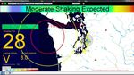 Video still of the beta version of Shake Alert, an earthquake early warning system being developed by the USGS along with a coalition of university partners.