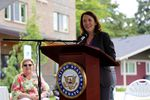 U.S. Senator Maria Cantwell is pushing legislation for a significant increase in affordable housing tax credits.