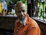 """""""Laughter has always been the juice of my life,"""" says Laraaji, who pursed stand-up comedy before becoming a professional musician."""