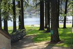 The Lake Grove Swim Park on Oswego Lake. The city of roughly 40,000 is 89 percent white. The median home value is just under $650,000.