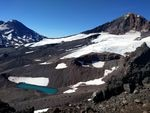 The Hayden and Diller Glaciers on Middle Sister in the Oregon Cascades continue to be active glaciers.