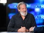 "Jeff Bridges visits ""Extra"" at Burbank Studios on Dec. 13, 2019 in Burbank, Calif."