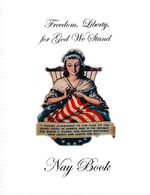 The cover of the Nay Book — a religious meditation drafted by Cliven Bundy's neighbor, Keith Nay. The Bundys say the contents of the Nay Book show their fights with the government are justified by Mormon scripture.