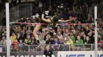 Vashti Cunningham leaps over the bar in the high jump at the USATF Indoor Championships in Portland on Saturday, March 12, 2016.