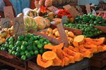Fresh fruit is on display at a market in Havana, Cuba, in this Jan. 21, 2013, file photo.