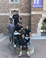 Damien Wheeler took a field trip with his mentees in 2018 to tour the University of Washington, Seattle.