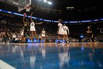 The NCAA women's basketball tournament at Moda Center in Portland, Ore., on March 29, 2019. This year's tournament will be played without fans due to the coronavirus pandemic.