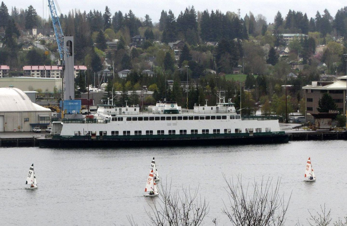 Want To Own A Ferryboat A Former Washington State Ferry Is For Sale Again Opb