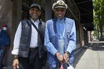 Veteran musician Calvin Walker (left) is one of the narrators of The Albina Soul Walk. Paul Knauls (right) owned the legendary Portland jazz and R&B venue the Cotton Club.