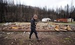 Vince Piper and his wife Lynne had only owned their 17-acre property in Elkhorn a short time before it was destroyed by the 2020 Beachie Creek Fire.
