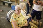 """Betty Rush said her faith is getting her through the evacuation. """"(God) is telling me right now that Cascade Locks is going to be ok,"""" she said."""
