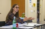 Heather Ohaneson, an associate professor of philosophy and religious studies at George Fox University, leads the Liberation Scholars Program, a two-week program at George Fox University for Latino students from Woodburn High School, July 22, 2021.