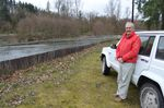 Jim Wilcox is a fourth-generation egg farmer. His family farm borders the Nisqually River.