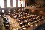 The Oregon Senate convened to vote on new Congressional and legislative maps as part of the state's redistricting process Monday, Sept. 20.