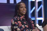 """Regina King speaks in HBO's """"Watchmen"""" panel at the Television Critics Association Summer Press Tour on Wednesday, July 24, 2019, in Beverly Hills, Calif."""