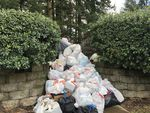 Residents of a West Linn apartment complex threw out mounds of food Tuesday, Feb. 16, 2021, from refrigerators unable to keep cold during power failures.