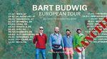 Bart Budwig's 2020 European tour poster.