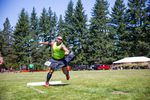 Heavy athletics is but one of many attractions at the Portland Highland Games.