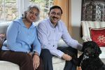"""The first line said 'empire builders.' I have a history coming from India, of empire. The 'empire' word says colonization and domination and so for me it was: 'OK, this is not how the state song should be,'"" said Portland computer engineer Alok Prakash, pictured alongside his wife, Prachee Bhatnagar."