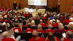 About 400 people packed a conference center at the University of Portland Monday evening to figure out ways to block work at the Zenith Energy oil terminal.