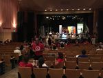 """Parents and educators, some of them wearing """"red for ed,"""" attended a hearing of the Joint Committee on Student Success, Sept. 27 2018 at Portland's Madison High School."""