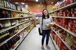 "Insil Kang used to drive an hour with her family to go grocery shopping at stores like this G-Mart in Beaverton. ""I'm Korean-American,"" Kang said. ""Food is an absolute core of who I am."""