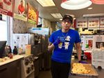 Mark Medina works at the Portland Burgerville on SE 92nd Avenue and Powell Boulevard and has been a leading force behind the store's efforts to formally unionize.