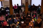 Members of the community give testimony to the Portland City Council on April 4, 2019.