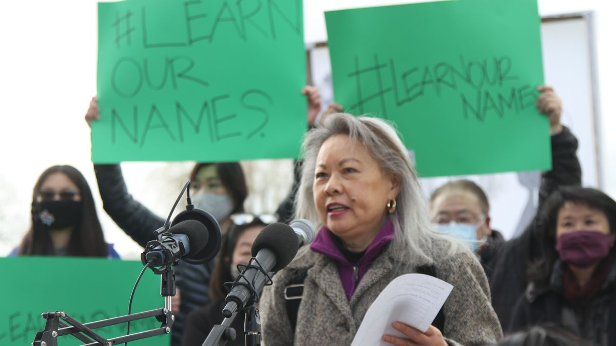 www.opb.org: 'Learn our names': At Portland rally, a call to combat anti-Asian racism