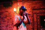 During Vinnie Dewayne's headlining set, he froze the entire crowd with at least 32 acapella bars about the vicious, racist attack on the MAX train that left two dead. The verse was talked about in back corners of the White Eagle long after it was done. St. Johns stand up.