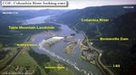 Bradford Island sits alongside Bonneville Dam in the middle of the Columbia River.