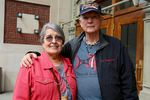 Chinook tribal elders Margaret Payne and Joe Brignone traveled from South Bend, Washington to Tacoma to attend the federal hearing.