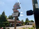 Northeast Portland's Montavilla Burgerville on June 10, 2020. The fast food restaurant was closed as workers went on strike after an employee there was diagnosed with COVID-19.