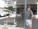 Scott Matthews opened his medical and recreational pot dispensary, 420Ville, in February.